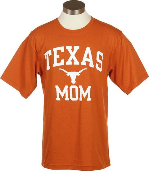 Texas longhorn mom t shirt university co op for Texas tee shirt company