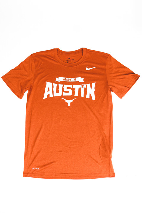 48dd368a Nike Texas Longhorns Made in Austin Legend Tee