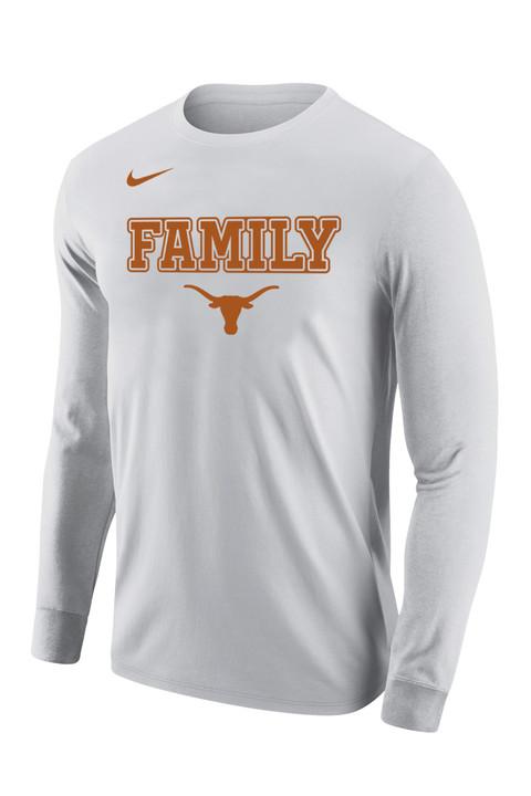 4bb0603d Nike Texas Longhorns Family Legend Long Sleeve T-Shirt