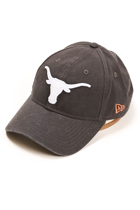 Texas Longhorn New Era 9Twenty Gray Cap 5d0ba164352d