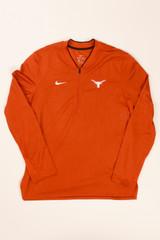 07ca70e6df00 Nike Longhorn Dri-FIT College Coach Half Zip Top