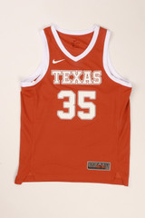 Nike Texas Longhorn Replica Basketball Jersey University Co Op