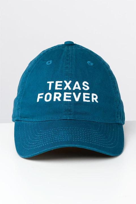 Texas Forever Adjustable Blue Cap