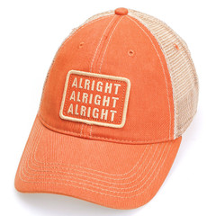 2dcb6a34e93c8 Alright Alright Alright Vintage Mesh Trucker Hat