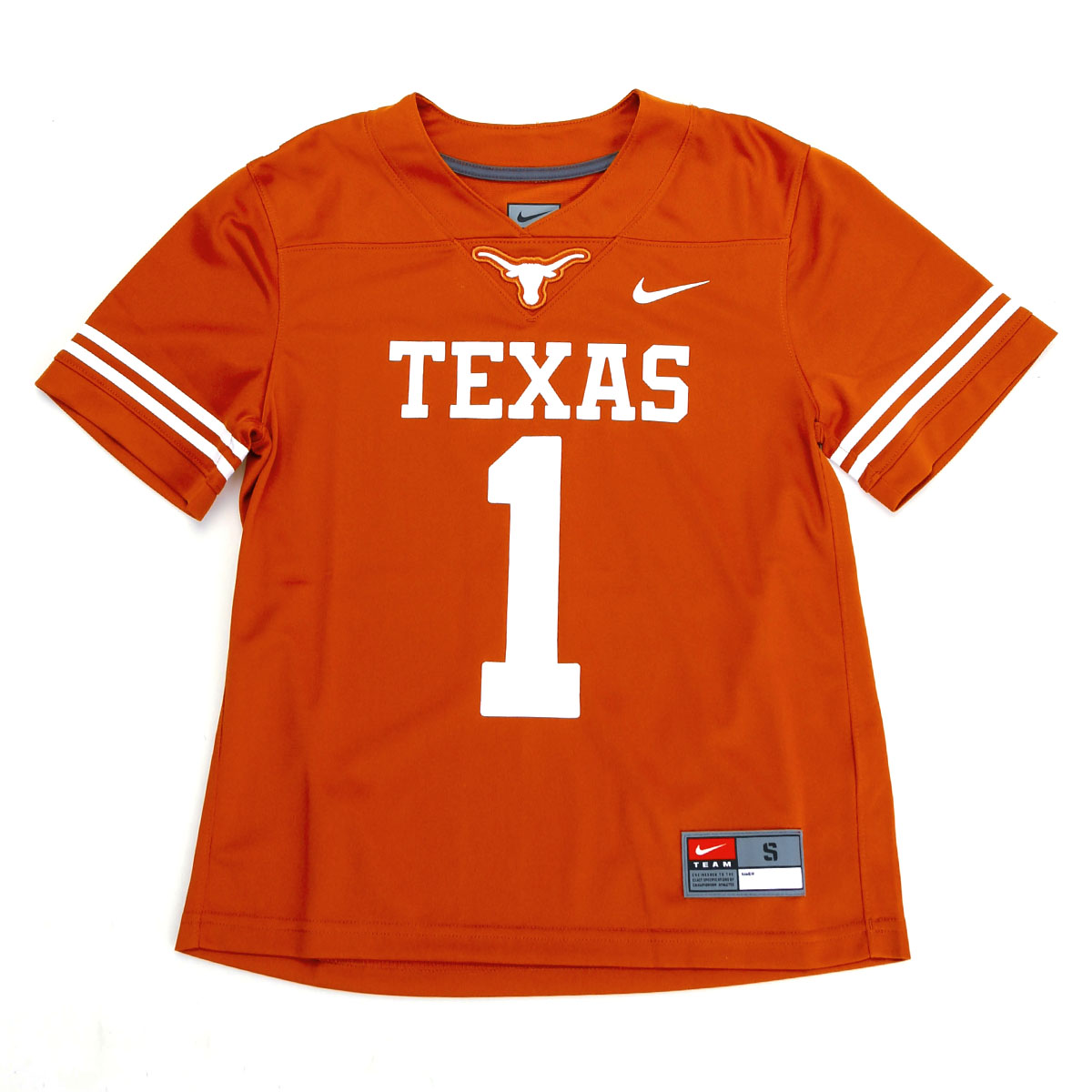 Texas Longhorn Youth #1 Football Jersey