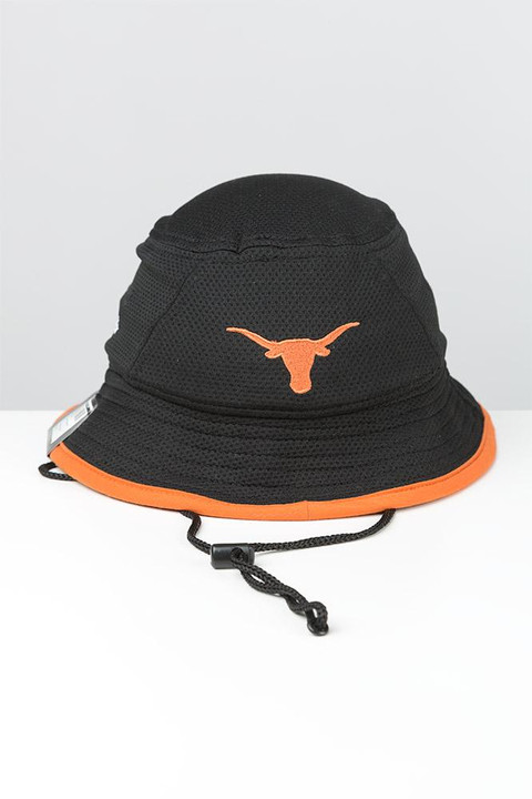 best service f7dbc f6fe4 Youth Texas Longhorns Fearless Fan Bucket Cap