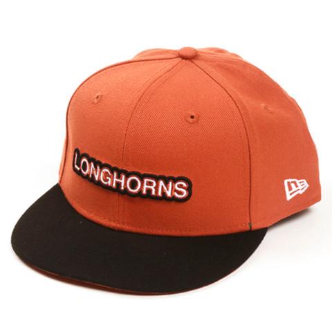 Youth New Era Longhorns 9Fifty Shout Snapback Cap