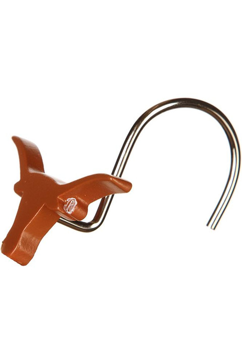 Texas Longhorn Shower Curtain Ring Set