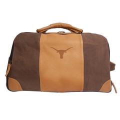f561b7b9d915 Canyon Texas Longhorn Stilson Leather Rolling Duffel Bag ...