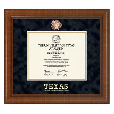 Texas Longhorn Students Graduation Diploma Frames | University Co-op