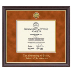 a84c23fdec77 University of Texas College Name Diploma Frame