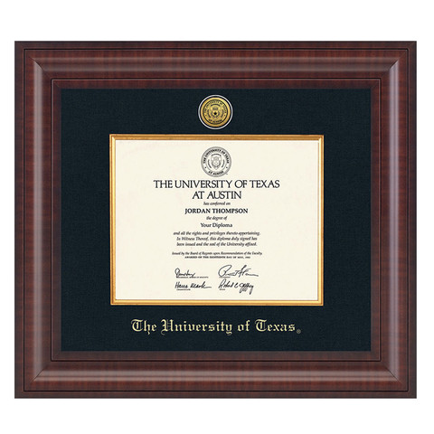 Texas Longhorn Students Graduation Diploma Frames | University Co-op