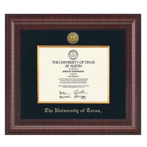 1da115ad7857 University of Texas Premier Black Diploma Frame.  259.99. Church Hill  Classics