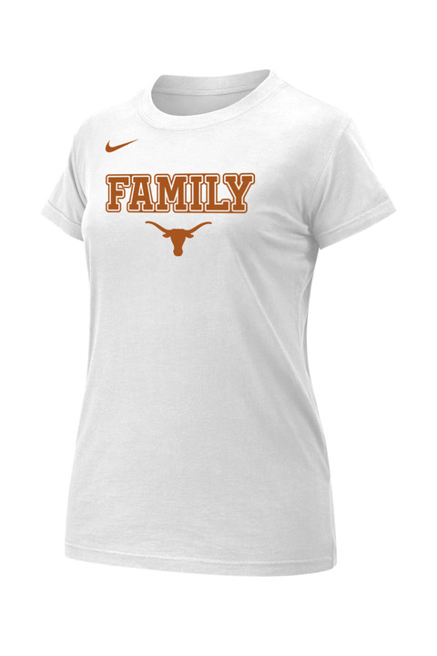 quality design 58f5c 0a3ed Nike Ladies Texas Longhorns Family Legend T-Shirt