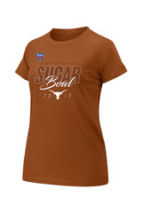 Ladies Texas Longhorns 2019 Sugar Bowl Bound Script Tee  0c71564dac
