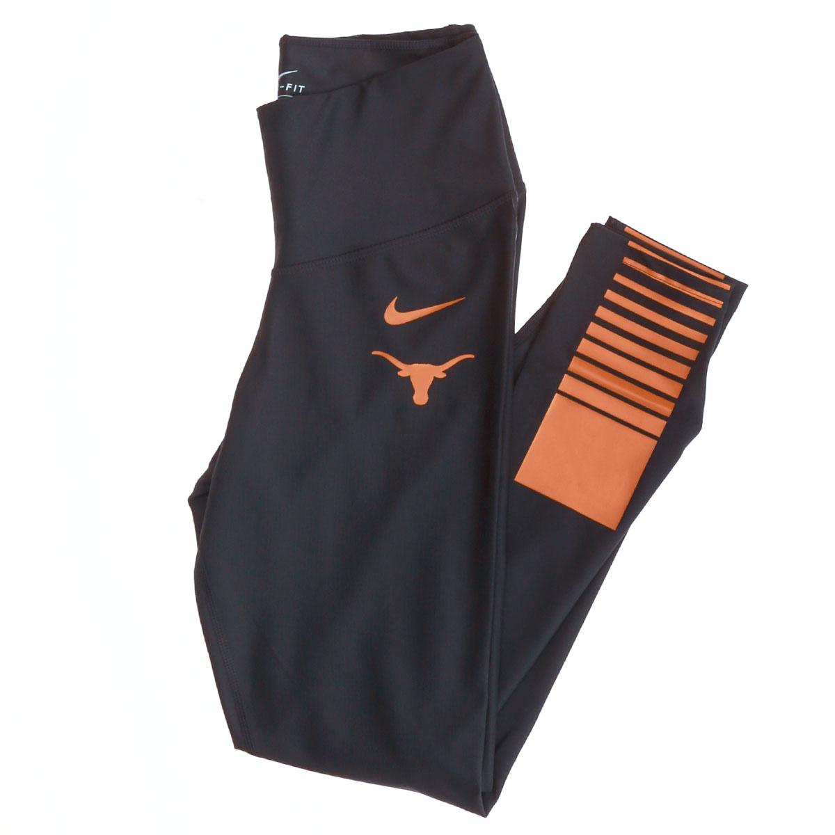 Ladies Dri Texas Nike Victory Sculpt Leggings Longhorns Fit kiuPXZ