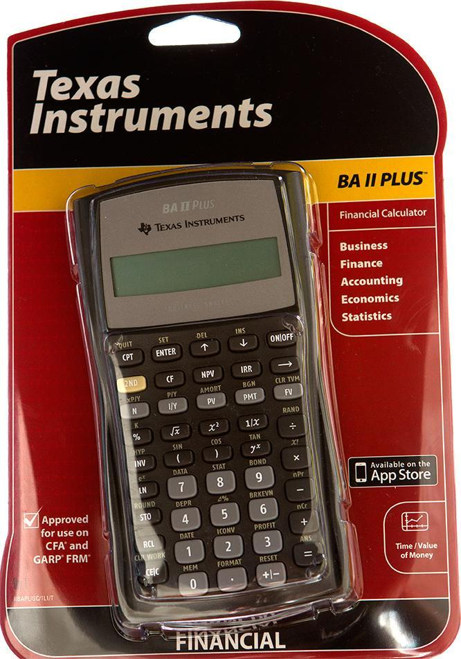 Ti Texas Instruments Ba Ii Plus 2 Calculators Advance Business Analyst Financial Calculator Comfortable And Easy To Wear