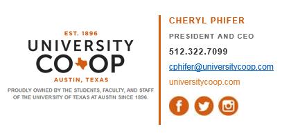University Co-op Letterhead