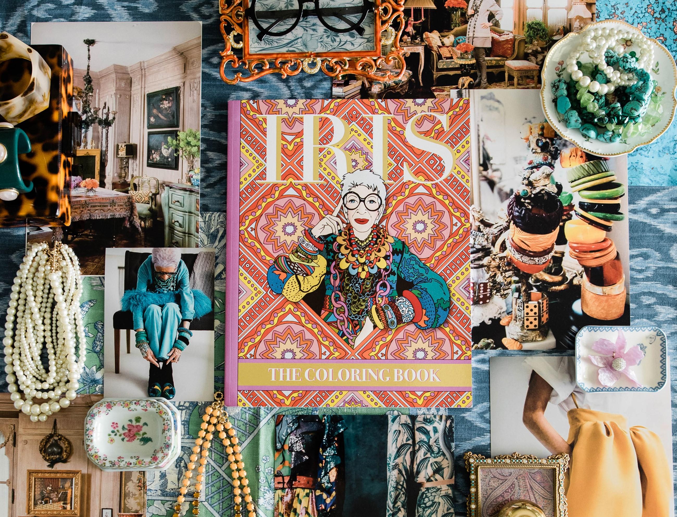 IRIS Coloring Book