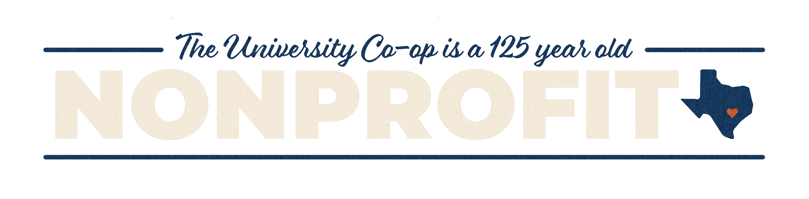 The University Co-op is a 125 year old NONPROFIT!
