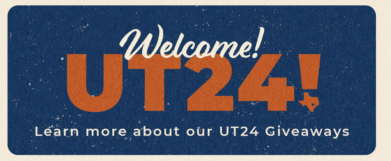 UT24: Learn more about our Giveaways!