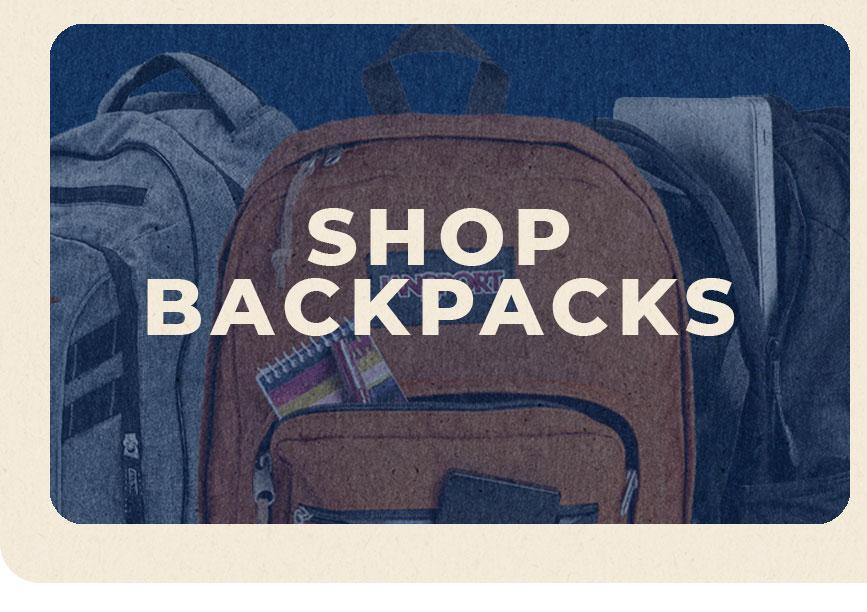 SHOP: Backpacks