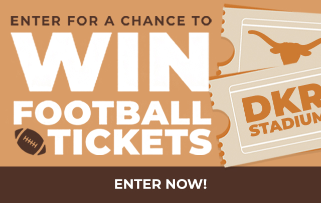 Enter for a chance to Win Football Tickets