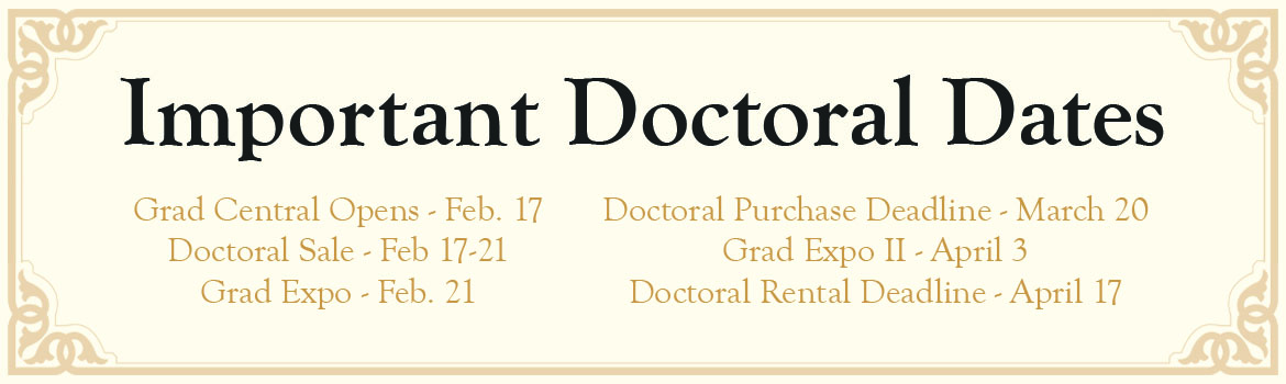 Important Doctoral Dates