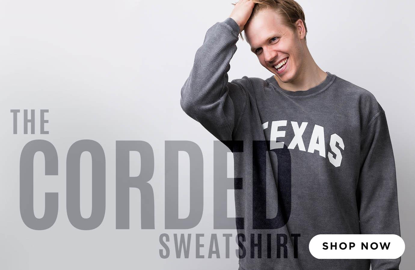 The Corded Sweatshirt