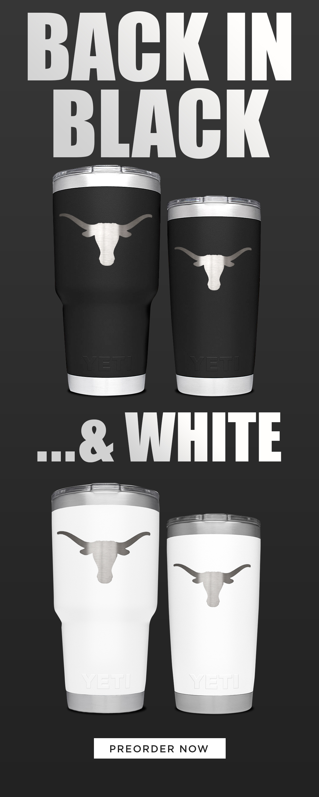 Black & White Yeti!